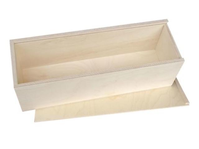 Holzkassette 350x105x105mm. neu Bild 2