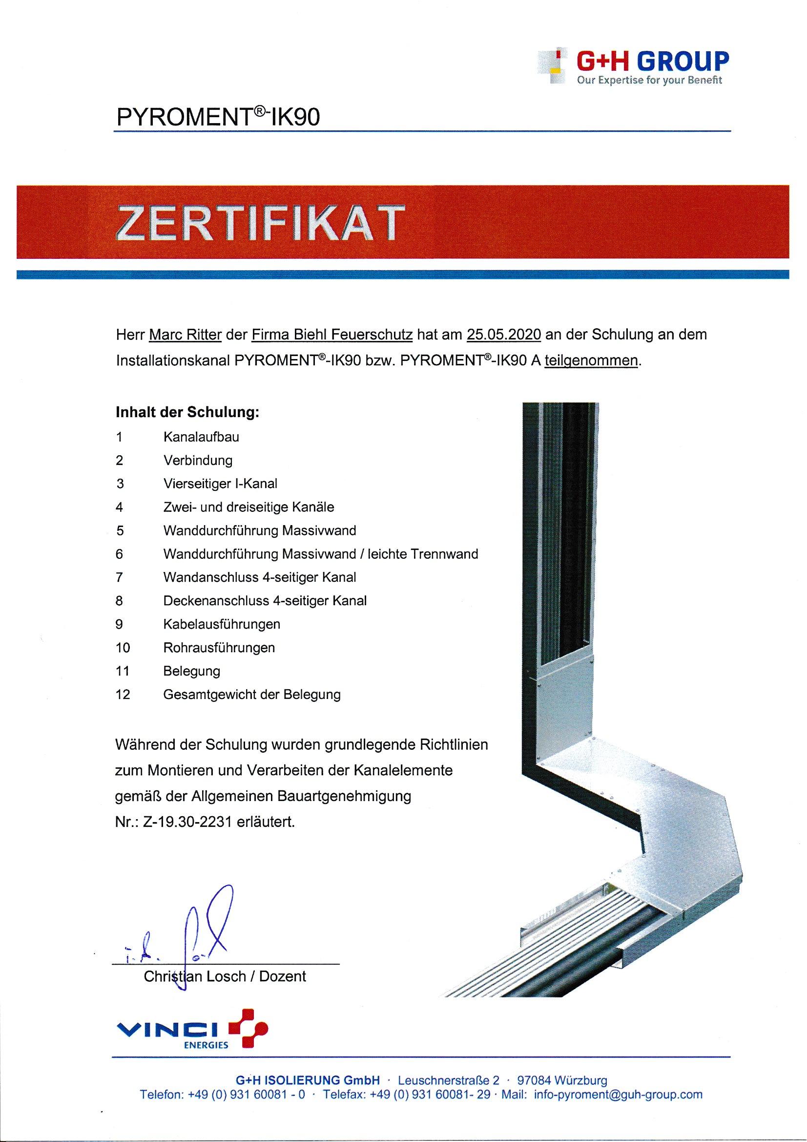 GH Zertifikate Seite 2